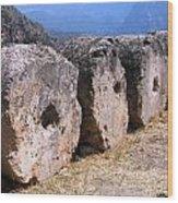 Ancient Delphi 24 Wood Print