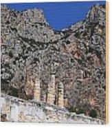 Ancient Delphi 9 Wood Print