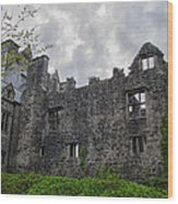 Ancient Donegal Castle Wood Print