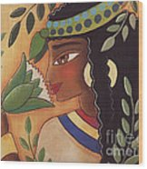Ancient Egyptian Belle  Wood Print