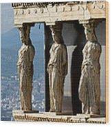 Ancient Greece Wood Print