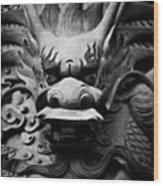 Ancient Guardian Wood Print