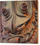 Ancient Indian Artifact Wood Print
