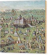 Ancient Jerusalem Wood Print