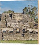 Ancient Mayan Ruins, Altun Ha, Belize Wood Print