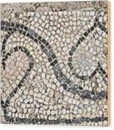 Ancient Mosaic Wood Print