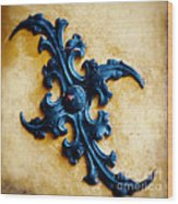 Ancient Motif Wood Print