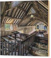 Ancient Pagan Chapel Wood Print