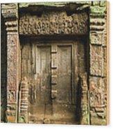 Ancient Portal Wood Print