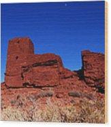Ancient Pueblo Wood Print