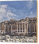 Ancient Ruins In Side Turkey Wood Print
