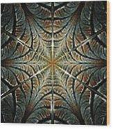 Ancient Shield Wood Print by Anastasiya Malakhova
