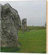 Ancient Site Of Avebury Wood Print