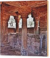 Ancient Stone Temple At Amarkantak India Wood Print
