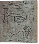 Ancient Wall Art Wood Print