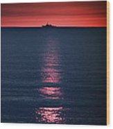 And All The Ships At Sea Wood Print