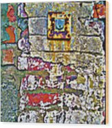 And Key Is Lost Wood Print