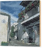 Andalusian White Village Wood Print