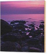 Andaman Sea Sunset Wood Print