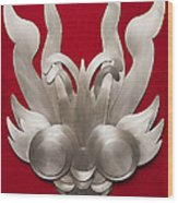 Andean Devil Mask Wood Print
