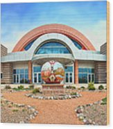 Anderson Abruzzo Albuquerque International Balloon Museum Wood Print