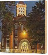 Anderson County Courthouse Wood Print