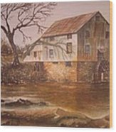 Anderson Mill Wood Print