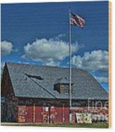 Andersons Dock Door County Wi Wood Print