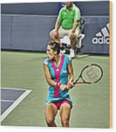 Andrea Petkovic Wood Print by Rexford L Powell