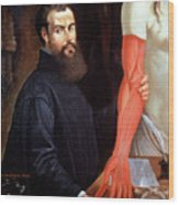 Andreas Vesalius Wood Print