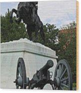 Andrew Jackson Memorial Wood Print