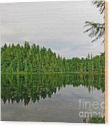 Andrew Lake Wood Print