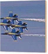Andrews J B Air Show 11 Wood Print