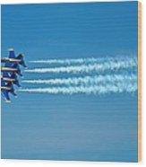 Andrews J B Air Show 12 Wood Print