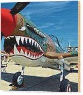 Andrews J B Air Show 3 Wood Print