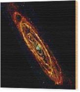 Andromeda Galaxy M31 Wood Print