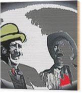 Andy Devine  Chill Wills Old Tucson Arizona 1971-2008 Wood Print
