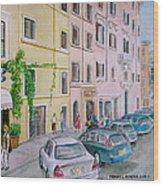 Anfiteatro Hotel Rome Italy Wood Print