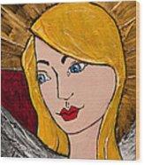 Angel 2 Wood Print