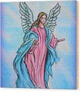 Angel Wood Print