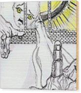 Angel Art - The Helping Hand Wood Print
