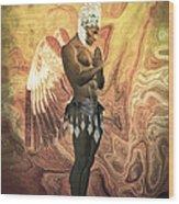Angel Cabaret Wood Print