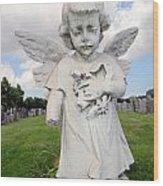 Angel Child Wood Print