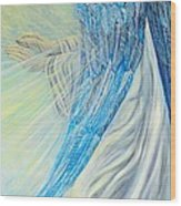 Angel Divine Wood Print