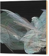 Angel Dove Wood Print by Elizabeth McTaggart