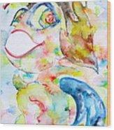Angel Garbuglio Wood Print