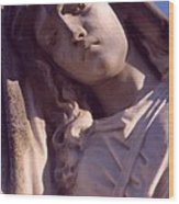 Angel In Mourning Wood Print