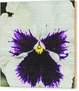 Angel In The Flower Wood Print