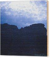 Angel Light Sedona Wood Print