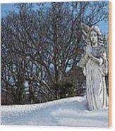 Angel Of Eternal Sunshine Wood Print